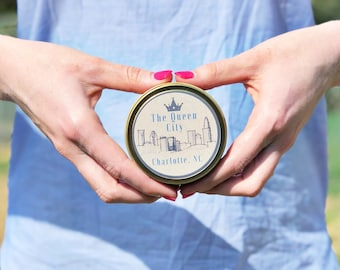 Queen City Candle | 6oz Travel Soy Candle | Wooden Wick Candle
