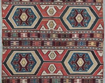 Shahsavan Mafrash Kilim, Vintage Kilim rug - 3'0 x 4'0 - Free shipping!