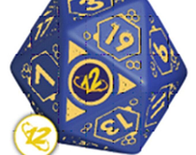 Infinity RPG Dice Set - 012 BOX (7 Unique Dice) - 050476 - Modiphius Entertainment