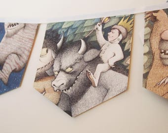 Where the Wild Things are- story book banner