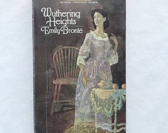 Wuthering Heights by Emily Bronte Vintage Paperback Book