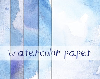 Watercolor Paper Image Pack Clip Art Background Border Template Letter Size High Resolution Images Pastels Paper Pack Watercolor Washes