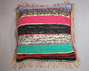 Great pillow 50x50cm lirette handwoven (No.4)