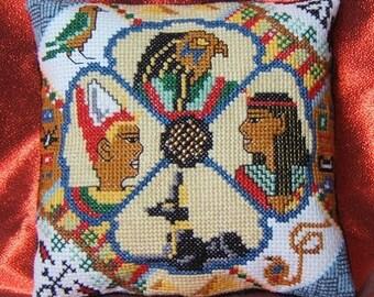 Ancient Egypt Mini Cushion Cross Stitch Kit