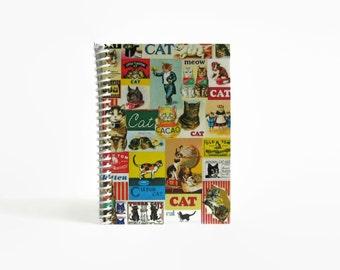 Cats Notebook A6 Spiral Bound