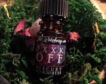 Mercury Retrograde Oil - Witchcraft ~ Essential Oil ~ Oils ~ Pagan ~ Paganism ~ Pagans ~ Altar
