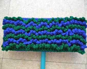 Blue and Green Swiffer Cloth - Blue Swiffer Cloth - Green Swiffer Cloth - Blue Floor Dusting Cloth - Green Floor Dusting Cloth