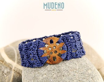 western bracelet - crocheted - western jewelry - country jewelry - cowgirl dress - western style - cowboy - cowgirl - MudenoMade