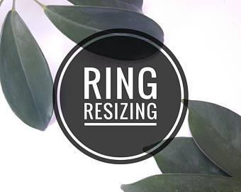 Ring Re-Sizing