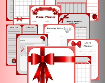Holiday Planner - Christmas Organizer
