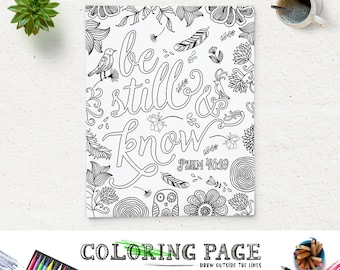 Floral Coloring Page Adult Coloring Book Printable Coloring Pages Anti Stress Coloring Instant Download Coloring Page Zen Coloring Download