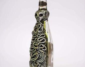 Cthulhu Lovecratian Poison Bottle Apothecary jar