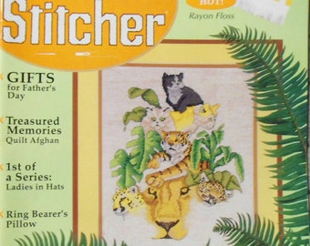 The Cross Stitcher June 1997 Magazine Volume 14 Number 2