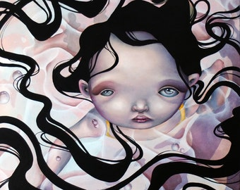 """Limited edition Giclee print """"Clean"""""""