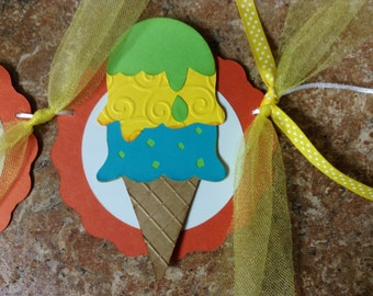 Ice cream cone Birthday Banner/Ice cream social