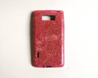 Shiny Glittered Burlesque Inspired Phone Case