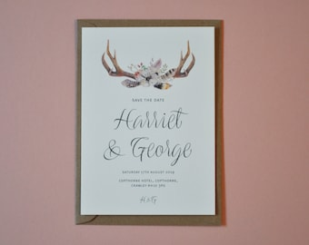 Save the Date - The Antler Range