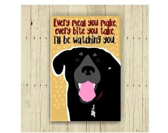 Lab Magnet, Labrador Retriever, Dog Magnet, Dog Lover Gift, Labrador Gift, Fridge Magnet, Refrigerator Magnet, Funny Magnet, Gift Under 10