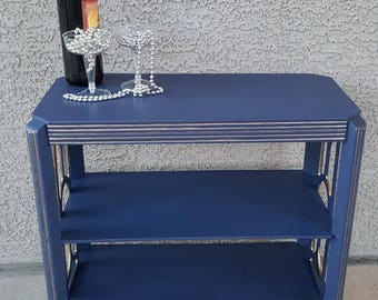 """SOLD. Hand Painted """"Gatsby"""" table"""