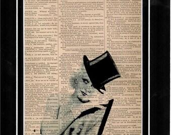 105 Dictionary Art Jean Harlow.