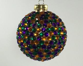 Carnivale ornament ball