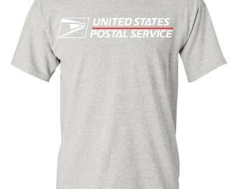 USPS Grey Short Sleeve Postal Shirt  - All sizes available!