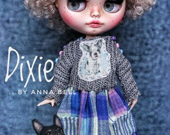 Blythe doll,OOAK Dixie with two outfits