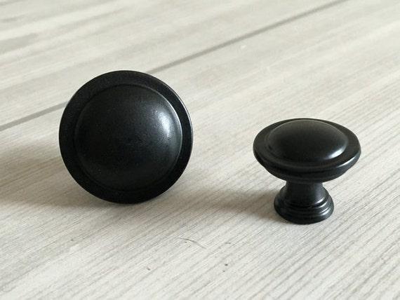 Negro cómoda cajón pomos tiradores manijas cocina gabinete