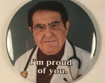 My 600 lb. Life Dr. Nowzaradan Refrigerator Magnet Diet Aid - I'm proud of you