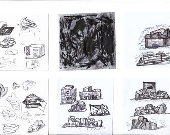 Architecture sketch #2 and little art