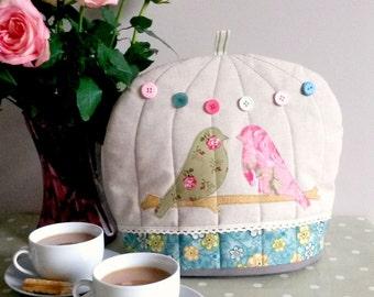Handmade Cute Bird Cage Tea Cosy