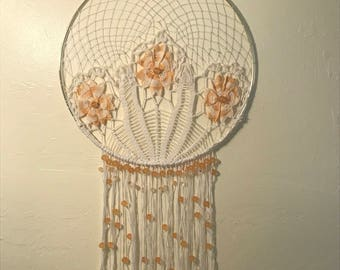 Crochet, Doily Dream Catcher, Handmade, One of a kind