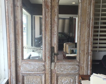 Antique French Double Door/Large