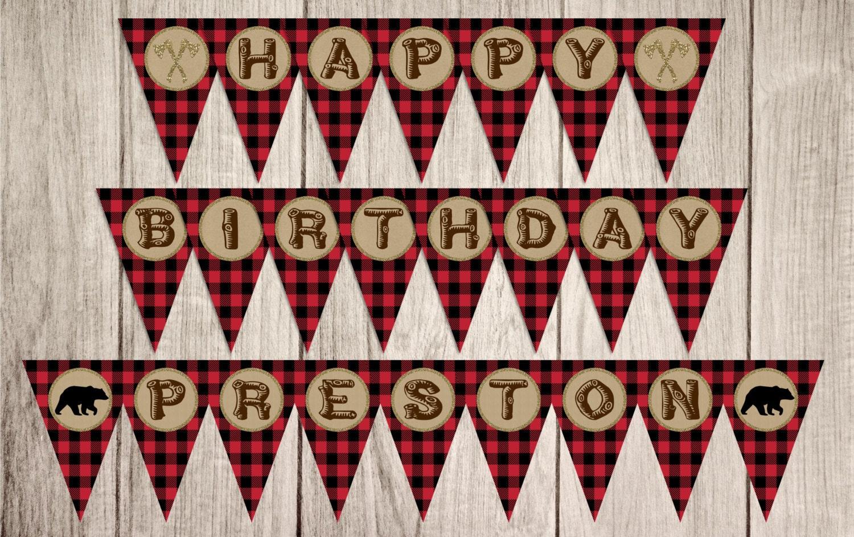 Happy Birthday Printable ~ Gold polka dot happy birthday banner more free birthday