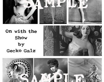 On with the Show collage sheet