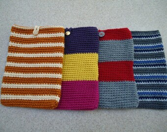 Crocheted iPad Sleeve/Cozy/Cover/Case
