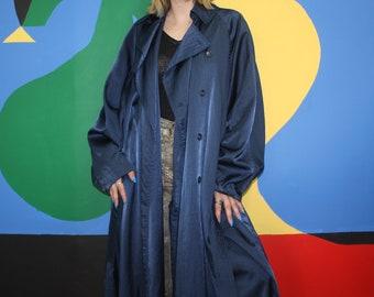 1980's Oversized Rare ALAIA Designer Trench Coat - Free Size