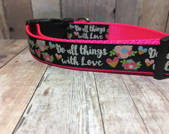 "The Ellery | Designer 1"" Width Dog Collar 
