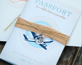 Passport Save the Date (Printed)