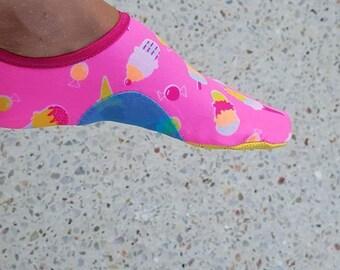 3Y to 5Y. Skin Splashy Shoes. Pdf pattern.