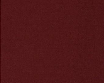 Yardage, Kona Cotton Solid Fabric, Kona Brick, Robert Kaufman, Solid Fabric, Blender Fabric, Modern Fabric, Modern Quilt