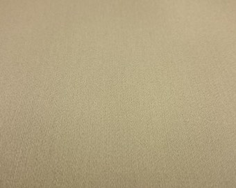 FreeSpirit  Decorator Solid Cotton Sateen in Taupe  REMNANT
