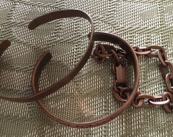 Copper Bracelets Copper Cuffs