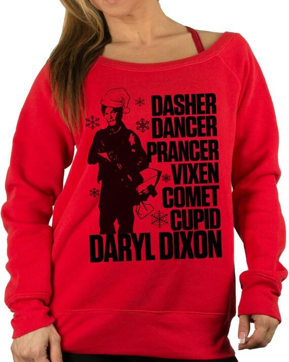Walking Dead Christmas Sweater.Christmas Sweatshirt Walking Dead Sweatshirt Daryl Dixon Walking Dead Christmas Sweater Ugly Christmas Sweater Funny Christmas