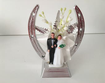 1950's Wedding Cake Topper