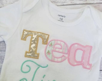 Tea Time Tea Party shirt