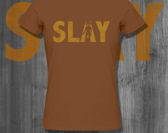 SLAY tshirt Afro T shirt Natural Hair T-Shirt  Black Lives Matter Plus Size Clothing African custom Shirt Nubian hip hop tees handmade gifts