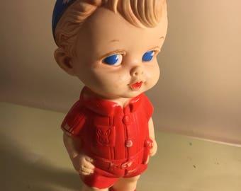 1956 Edward Mobley rubber doll boy