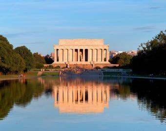 Lincoln Memorial at Daybreak (Washington, DC)