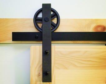 big wheel barn door hardware / sliding doors/5ft,6ft,6.6ft,7.5ft,8ft,8.2ft,10ft,12ft,13ft,14ft,15ft,16ft